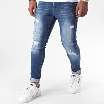 Black Needle - Jean Slim 3181-1 Bleu Denim