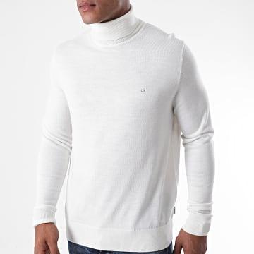 Calvin Klein - Pull Superior Wool Turtle Neck 2751 Beige