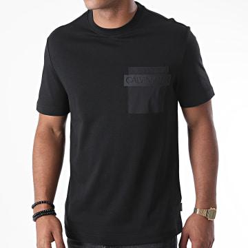 Calvin Klein - Tee Shirt Poche Nylon Pocket 5579 Noir