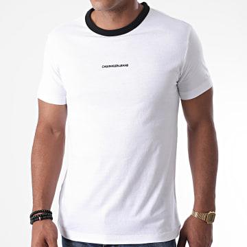 Calvin Klein - Tee Shirt Ringer 6452 Blanc
