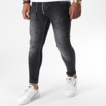 Classic Series - Jean Skinny DHZ-3145 Gris Anthracite