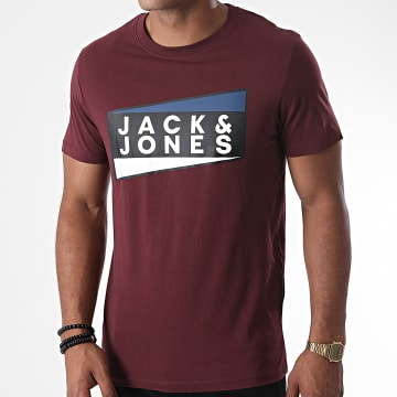 Jack And Jones - Tee Shirt Shaun Bordeaux