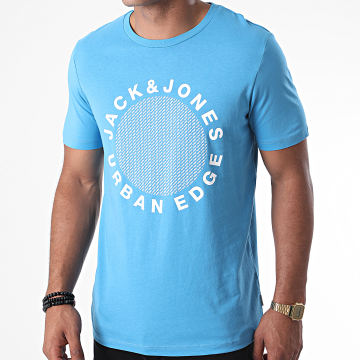 Jack And Jones - Tee Shirt Larsen Bleu Clair