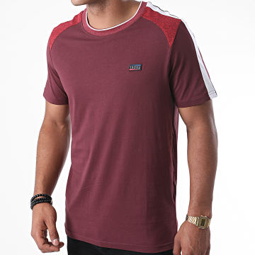 Jack And Jones - Tee Shirt A Bandes Ali Bordeaux