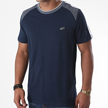 Jack And Jones - Tee Shirt A Bandes Ali Bleu Marine