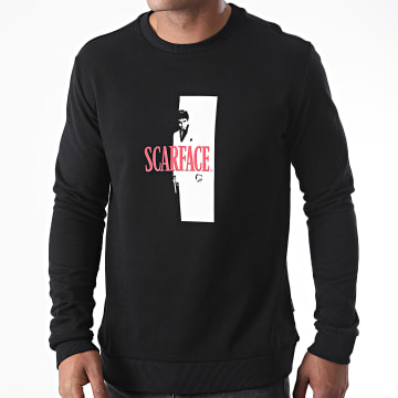 Only And Sons - Sweat Crewneck Scarface Noir
