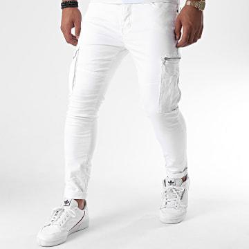 Project X - Jean Slim 2090022 Blanc