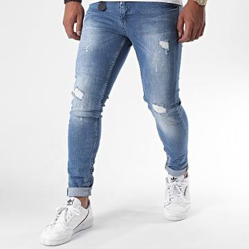 Project X - Jeans Skinny T19955 Bleu Denim