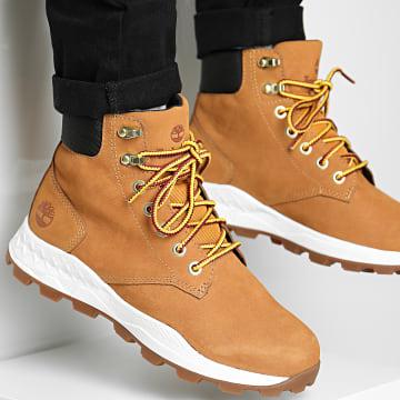 Timberland - Boots Brooklyn 6 Inch A27QD Wheat Nubuck