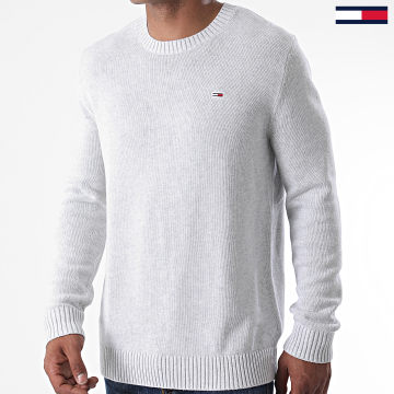 Tommy Jeans - Pull Essential 8801 Gris Clair