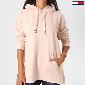 Tommy Hilfiger - Sweat Capuche Femme Cindy Relaxed 8599 Rose