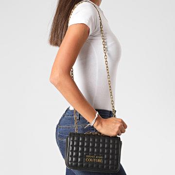 Versace Jeans Couture - Sac A Main Femme Linea T E1VZABQ1 Noir Doré