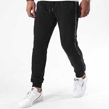 Antony Morato - Pantalon Jogging A Bandes MMFP00299 Noir