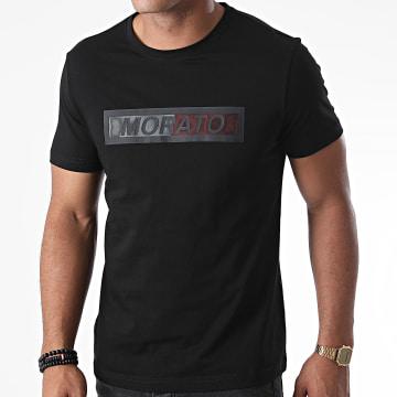 Antony Morato - Tee Shirt Orange Line MMKS01828 Noir