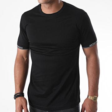 Antony Morato - Tee Shirt Orange Line MMKS01837 Noir