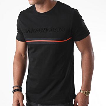 Antony Morato - Tee Shirt Orange Line MMKS01848 Noir