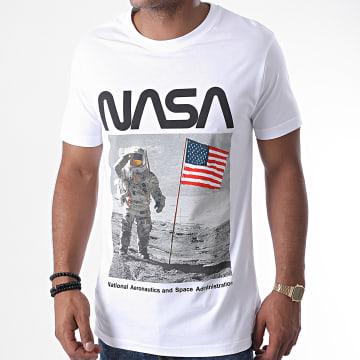 Mister Tee - Tee Shirt NASA MT1113 Blanc