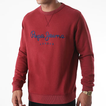 Pepe Jeans - Sweat Crewneck Joseph PM581838 Bordeaux