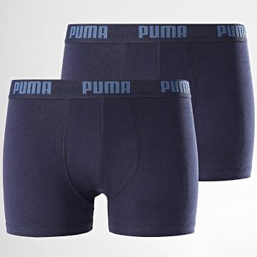 Puma - Lot De 2 Boxers 521015001 Bleu Marine