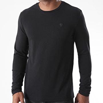 Redskins - Tee Shirt Manches Longues Reiner Calder Noir