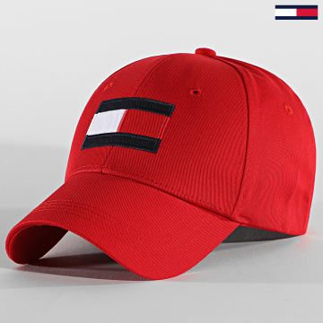 Tommy Hilfiger - Casquette Big Flag 4508 Rouge