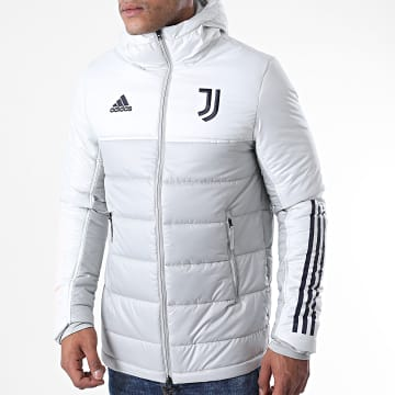 Adidas Performance - Doudoune Capuche Juventus Winter FR4250 Gris