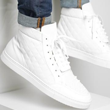 BB Salazar - Baskets Montantes Blacxxxr White