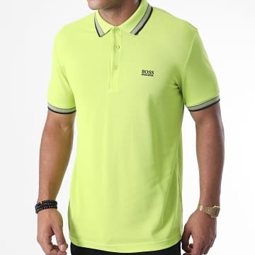 BOSS - Polo Manches Courtes Paddy 50398302 Vert Anis