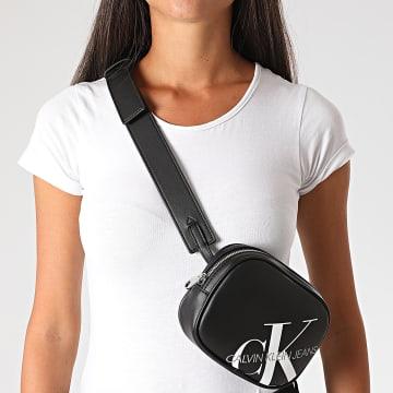 Calvin Klein - Sac Banane Femme Round Waistbag 6853 Noir