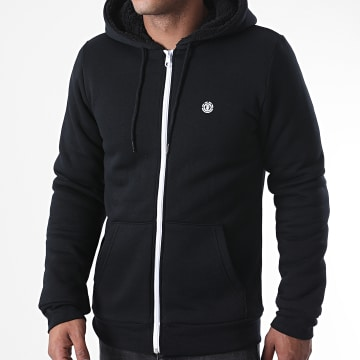 Element - Sweat Zippé Capuche Bolton Noir