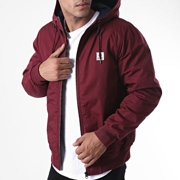 Element - Veste Zippée Capuche Dulcey Bordeaux