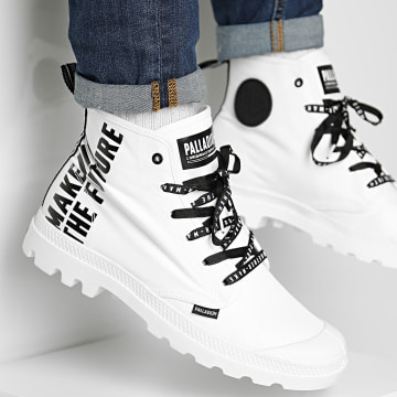 Palladium - Boots Pampa Hi Future 76885 White