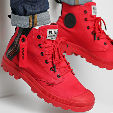 Palladium - Boots Pampa Unzipped 76443 Red Salsa