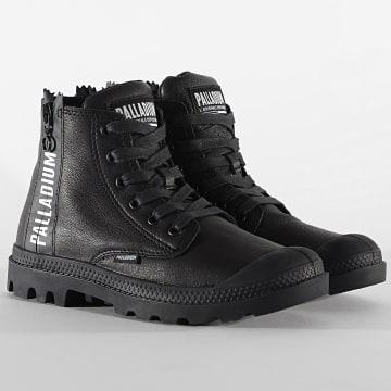 Palladium - Boots Femme Pampa UBN Zips Leather 96857 Black