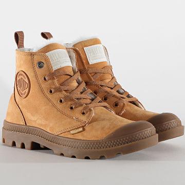 Palladium - Boots Femme Pampa Hi Zip 95982 Camel