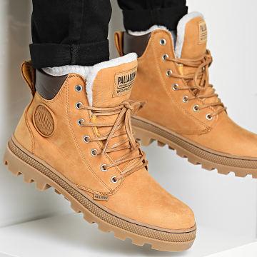 Palladium - Boots Pallabrosse Sport Cuff Waterproof Plus 06447 Amber Gold