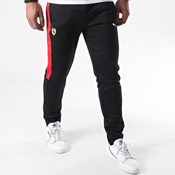Puma - Pantalon Jogging Ferrari Race T7 597945 Noir Rouge