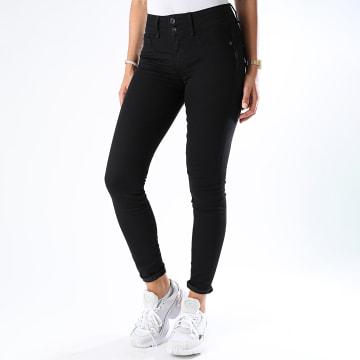 Tiffosi - Jean Skinny Femme One Size Double Noir