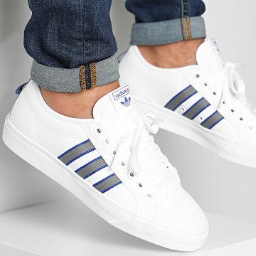 Adidas Originals - Baskets Nizza FW4326 Footwear White Grey Three Royal Blue