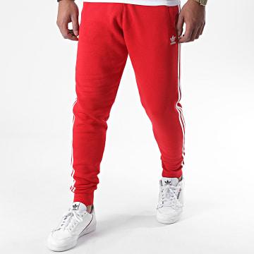 Adidas Originals - Pantalon Jogging A Bandes GD9958 Rouge