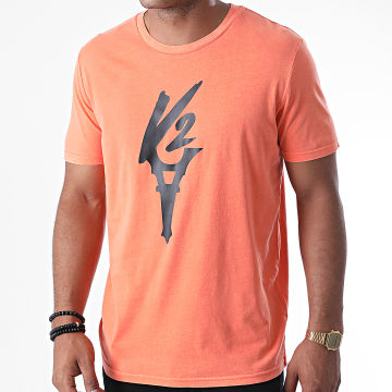Da Uzi - Tee Shirt Logo Orange Noir