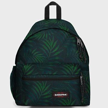 Eastpak - Sac A Dos Padded Zippl'r EA5B74 Noir Vert Floral