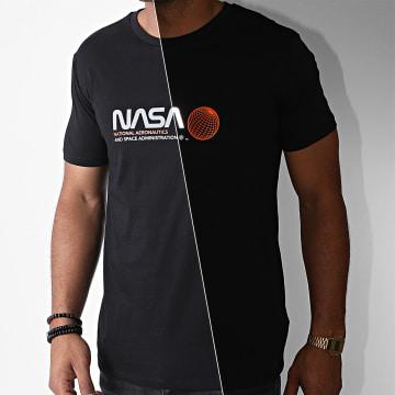 NASA - Tee Shirt Reflective Space Admin Noir