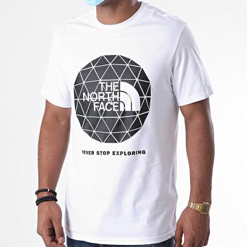 The North Face - Tee Shirt Geodome M7YF Blanc