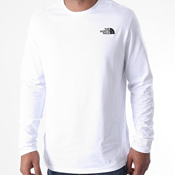 The North Face - Tee Shirt Manches Longues Easy TX1L Blanc