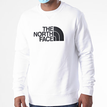 The North Face - Sweat Crewneck Drew Peak SVRL Blanc