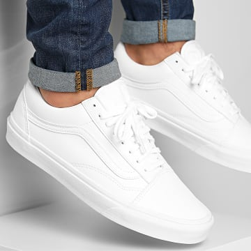 Vans - Baskets Old Skool Classic Tumble A38G1ODJ1 True White