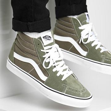 Vans - Baskets Sk8-Hi A4BV60FI1 Grap Leaf True White