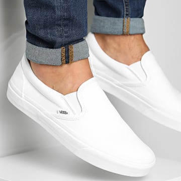 Vans - Baskets Classic Slip-On 00EYEW001 True White