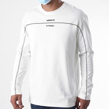 Adidas Originals - Tee Shirt Manches Longues GD9295 Blanc